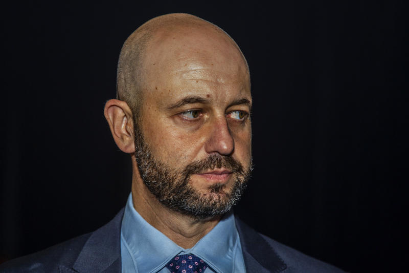 NRL Chief Executive Todd Greenberg is seen before the commencement of the 2020 NRL season launch at The Venue on March 05 2020 in Sydney, Australia. (Photo by Jenny Evans/Getty Images)
