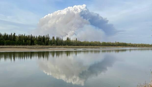 The fire continues to spread after a state of emergency was declared in the city on Monday.