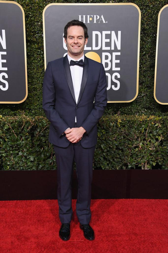 <p>Bill Hader attends the 76th Annual Golden Globe Awards at the Beverly Hilton Hotel in Beverly Hills, Calif., on Jan. 6, 2019. (Photo: Getty Images) </p>