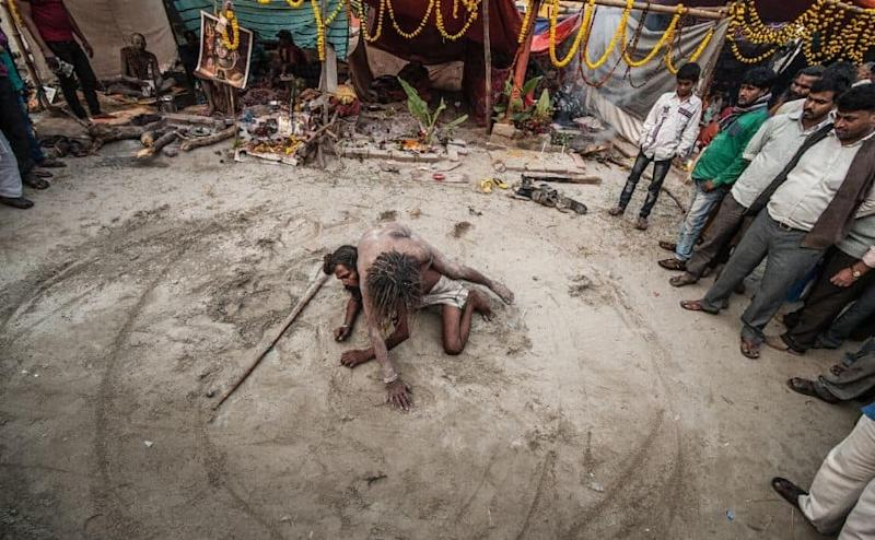 Hindus have always associated the river Ganga with the remission of sins and attainment of nirvana. Sagar Island or Gangasagar lies at the mouth of the river, from where it drains into the Bay of Bengal. During their short stay at the camp Sadhus perform many acts to draw the devotees.