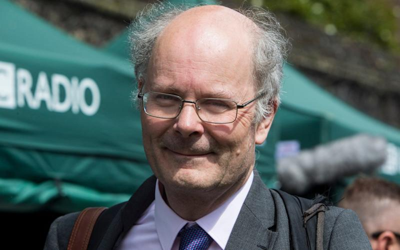 The survey was unveiled by Professor John Curtice - Credit:  Mark Thomas / i-Images