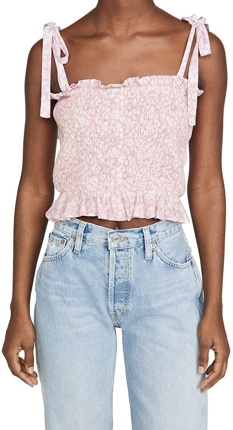 <p>This <span>Lost + Wander Lets Go to Paris Cami Top</span> ($65) is the perfect choice for spring picnics.</p>