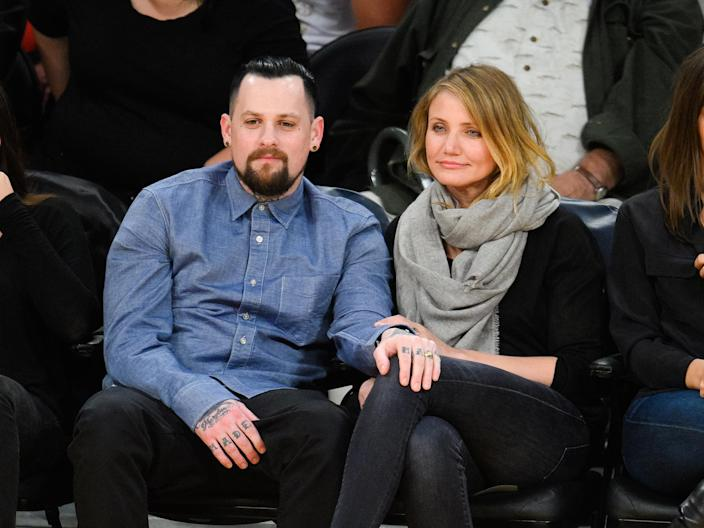 Celebrities At The Los Angeles Lakers Game (Noel Vasquez / GC Images)