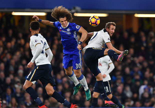 David Luiz and Harry Kane