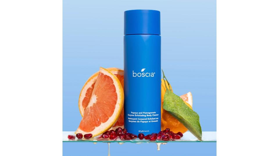 Papaya and Pomegranate Enzyme Exfoliating Body Cleanser - boscia, $49