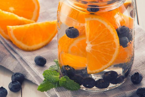 fruits infused water for weight loss