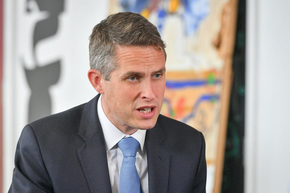 """Education Secretary Gavin Williamson said: """"Ofsted's review has rightly highlighted where we can take specific and urgent action to address sexual abuse in education. (PA Archive)"""