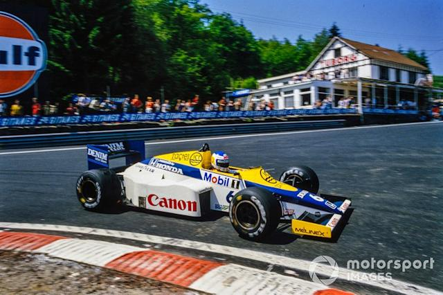 "Keke Rosberg, Williams FW10 Honda <span class=""copyright"">Motorsport Images</span>"
