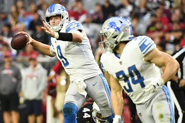 Zach Zenner has emerged once again, and as long as Kerryon Johnson remains out, Zenner will hold value. (Photo by Jennifer Stewart/Getty Images)