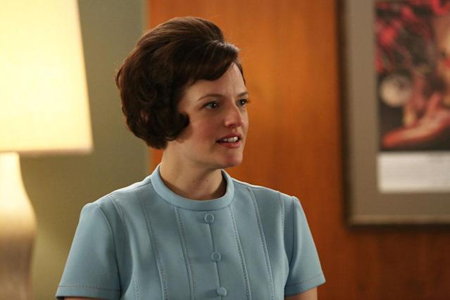 "Peggy Olson (Elisabeth Moss) in the ""Mad Men"" episode, ""For Immediate Release."""