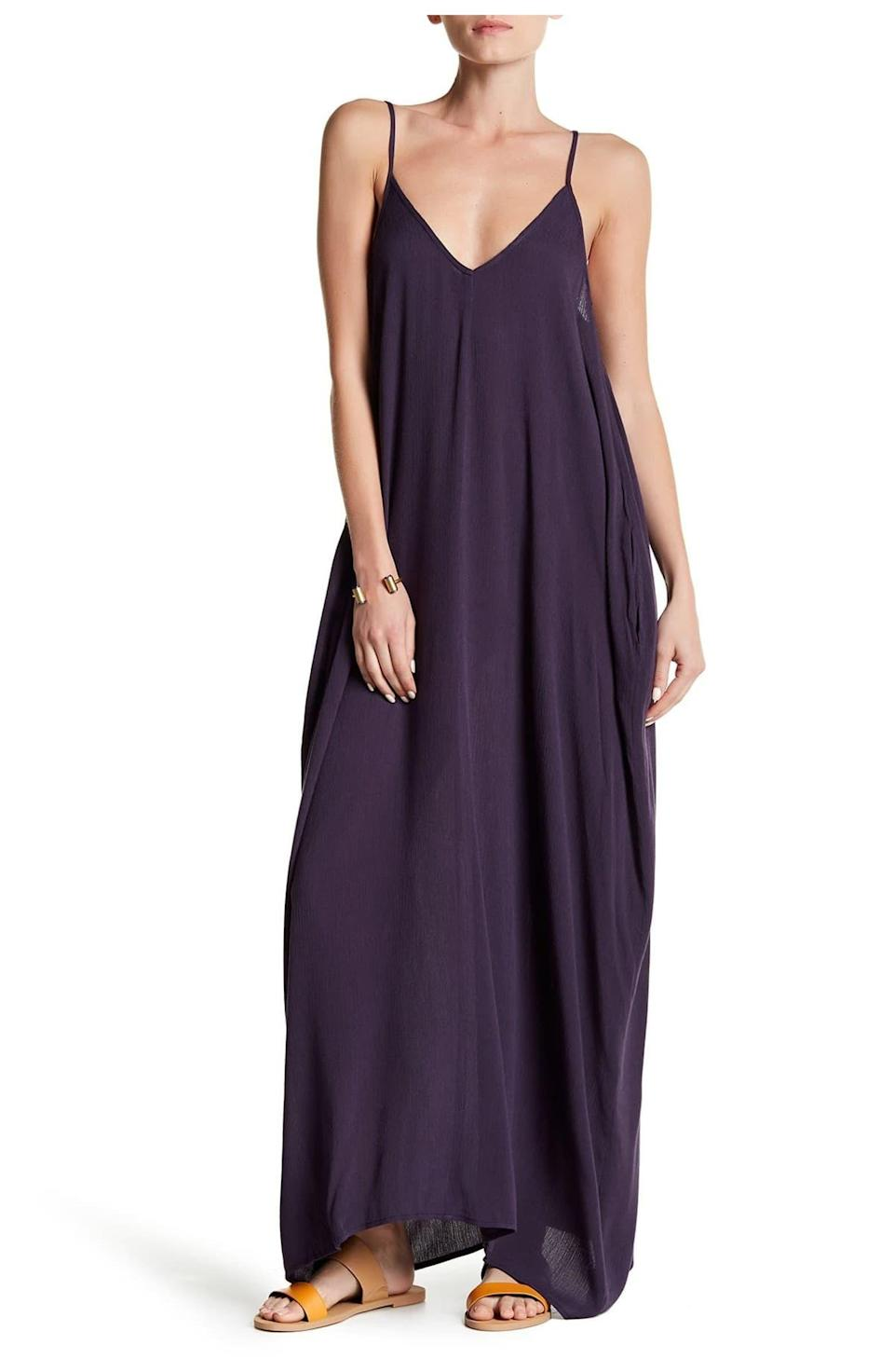 """<h2>Lovestitch Maxi Dress</h2><br>This compliment-magnet of a maxi dress may have a lot of fabric, but don't mistake it for a stylish sweat fest. Its relaxed silhouette and airy material make this a cool choice, whether it's worn solo or with layers. <br><br><strong>The Hype:</strong> 4.6 out of 5 stars; 14 reviews on <a href=""""https://www.nordstromrack.com/s/lovestitch-maxi-dress/4989290"""" rel=""""nofollow noopener"""" target=""""_blank"""" data-ylk=""""slk:NordstromRack.com"""" class=""""link rapid-noclick-resp"""">NordstromRack.com</a><br><br><strong>What They're Saying:</strong> """"Obsessed with this dress!!!! The best summer """"throw-on-and go"""" while looking cute and out together dress! It drapes perfectly. I bought it in so many colors and constantly get compliments on it. I'm 5'10"""" and it is even long enough for me!"""" — Tiffanybd, NordstromRack.com reviewer<br><br><strong>Love Stitch</strong> Maxi Dress, $, available at <a href=""""https://go.skimresources.com/?id=30283X879131&url=https%3A%2F%2Fwww.nordstromrack.com%2Fs%2Flovestitch-maxi-dress%2F4989290"""" rel=""""nofollow noopener"""" target=""""_blank"""" data-ylk=""""slk:Nordstrom Rack"""" class=""""link rapid-noclick-resp"""">Nordstrom Rack</a>"""
