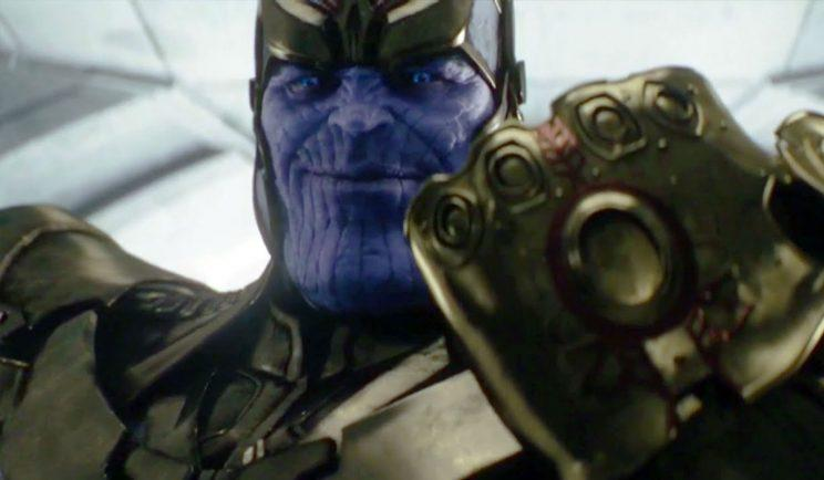 Thanos gets a new look for Avengers: Infinity War - Credit: Marvel