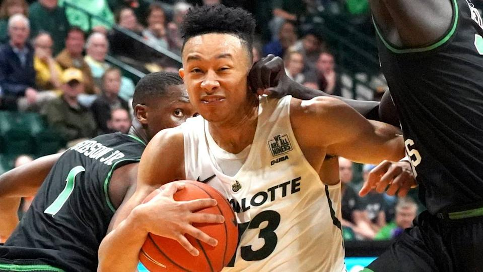 Charlotte 49ers basketball team easing back to full strength at practice