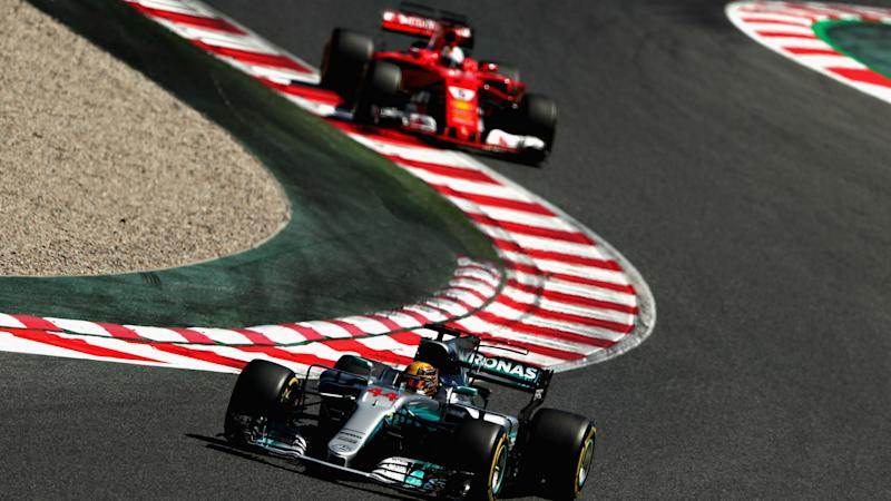 Lewis Hamilton edges Sebastian Vettel for F1 pole in Spain