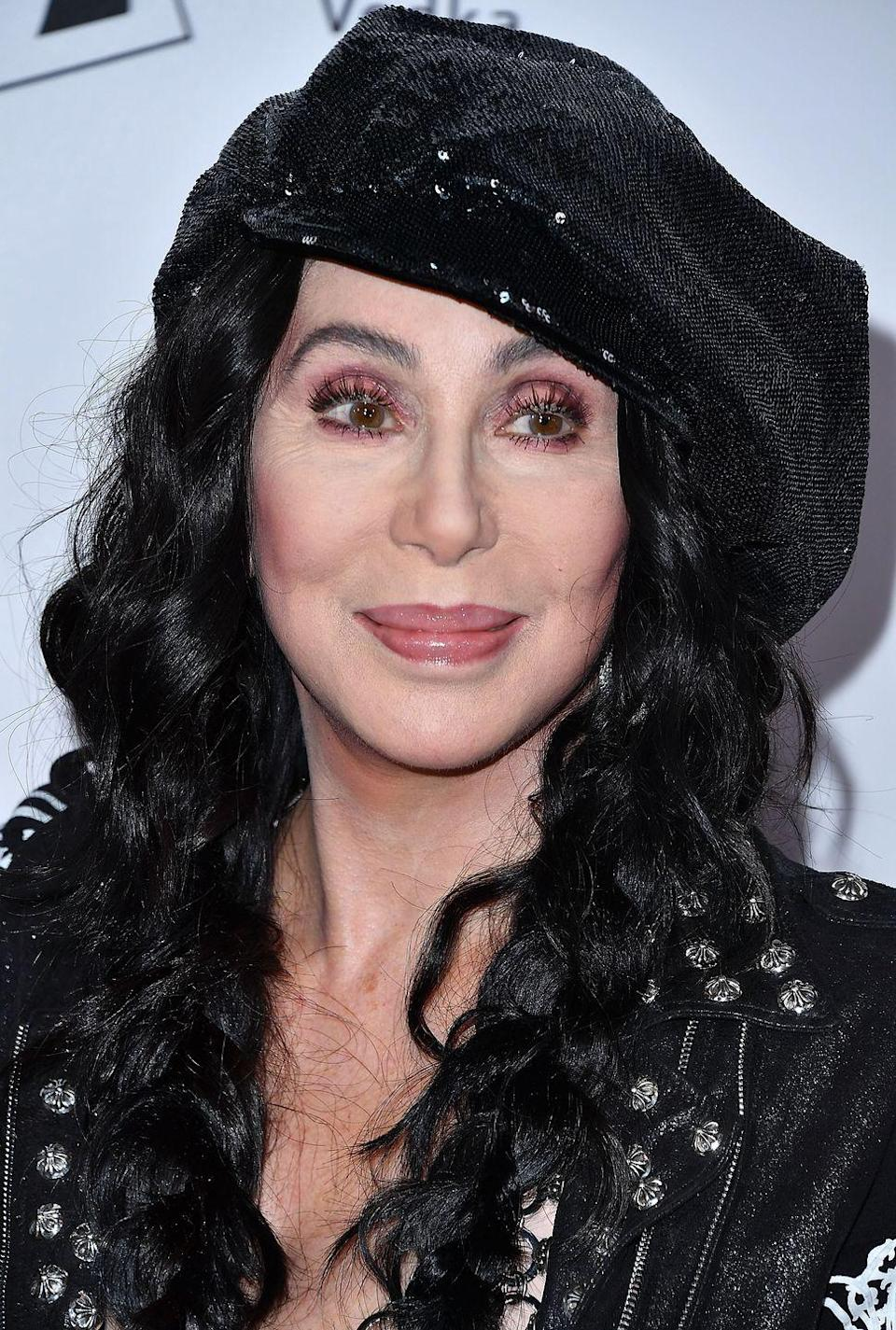 """<p>Cher has never been shy about discussing plastic surgery—but she won't admit to work she hasn't done. """"If I'd had as much plastic surgery as they [say], you know, like I've got ass implants and calf implants and cheek implants,"""" the music legend told <a href=""""http://abcnews.go.com/Primetime/story?id=132108&page=1"""" rel=""""nofollow noopener"""" target=""""_blank"""" data-ylk=""""slk:ABC in 200"""" class=""""link rapid-noclick-resp"""">ABC in 200</a><a href=""""http://abcnews.go.com/Primetime/story?id=132108&page=1"""" rel=""""nofollow noopener"""" target=""""_blank"""" data-ylk=""""slk:2"""" class=""""link rapid-noclick-resp"""">2</a>.""""I've had the same cheeks my entire life. No butt lifts. No ribs removed. If I want to put my tits on my back, it's nobody's business but my own,"""" she said. </p>"""