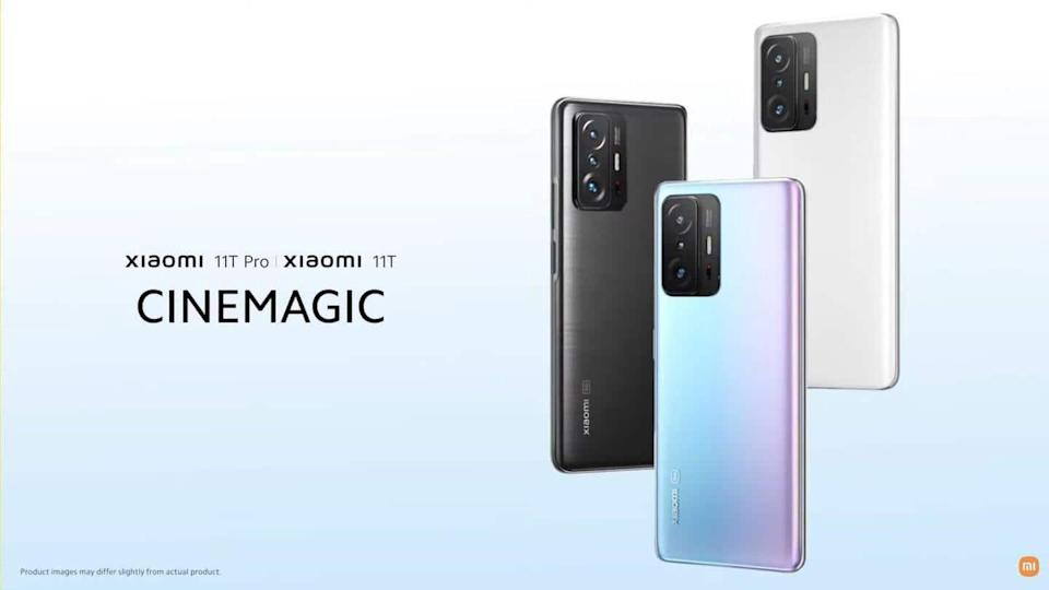 Xiaomi 11T series, with a 108MP main camera, goes official