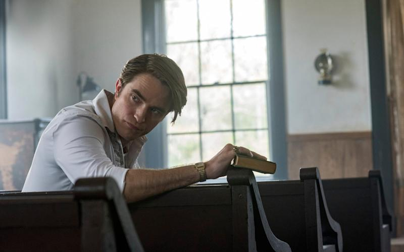 Handsome one moment, terrifying the next: Robert Pattinson in The Devil All The Time - Glen Wilson/Netflix