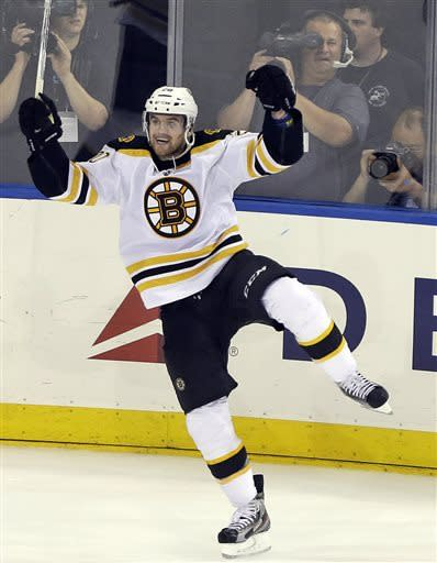 Paille's goal puts Bruins on verge of East finals