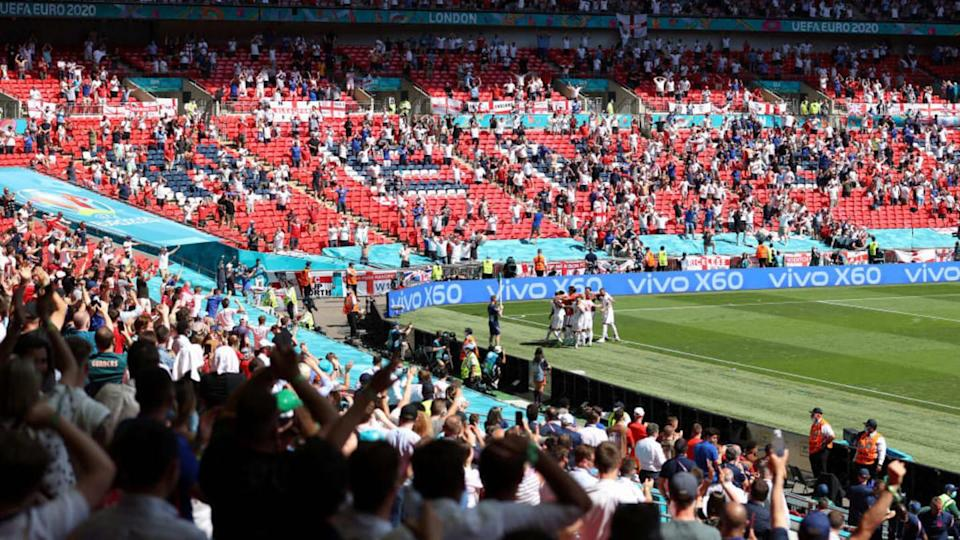 Euro em Wembley. | Catherine Ivill/Getty Images