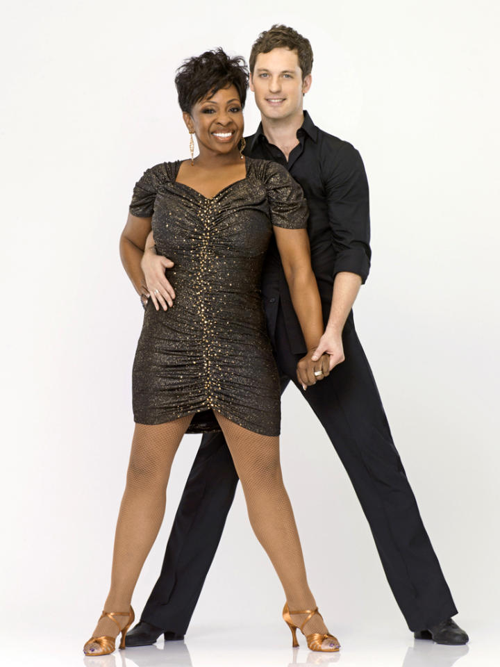 "Gladys Knight teams with professional dancer Tristan MacManus on Season 14 of ""<a href=""http://tv.yahoo.com/dancing-with-the-stars/show/38356"">Dancing With the Stars</a>."""
