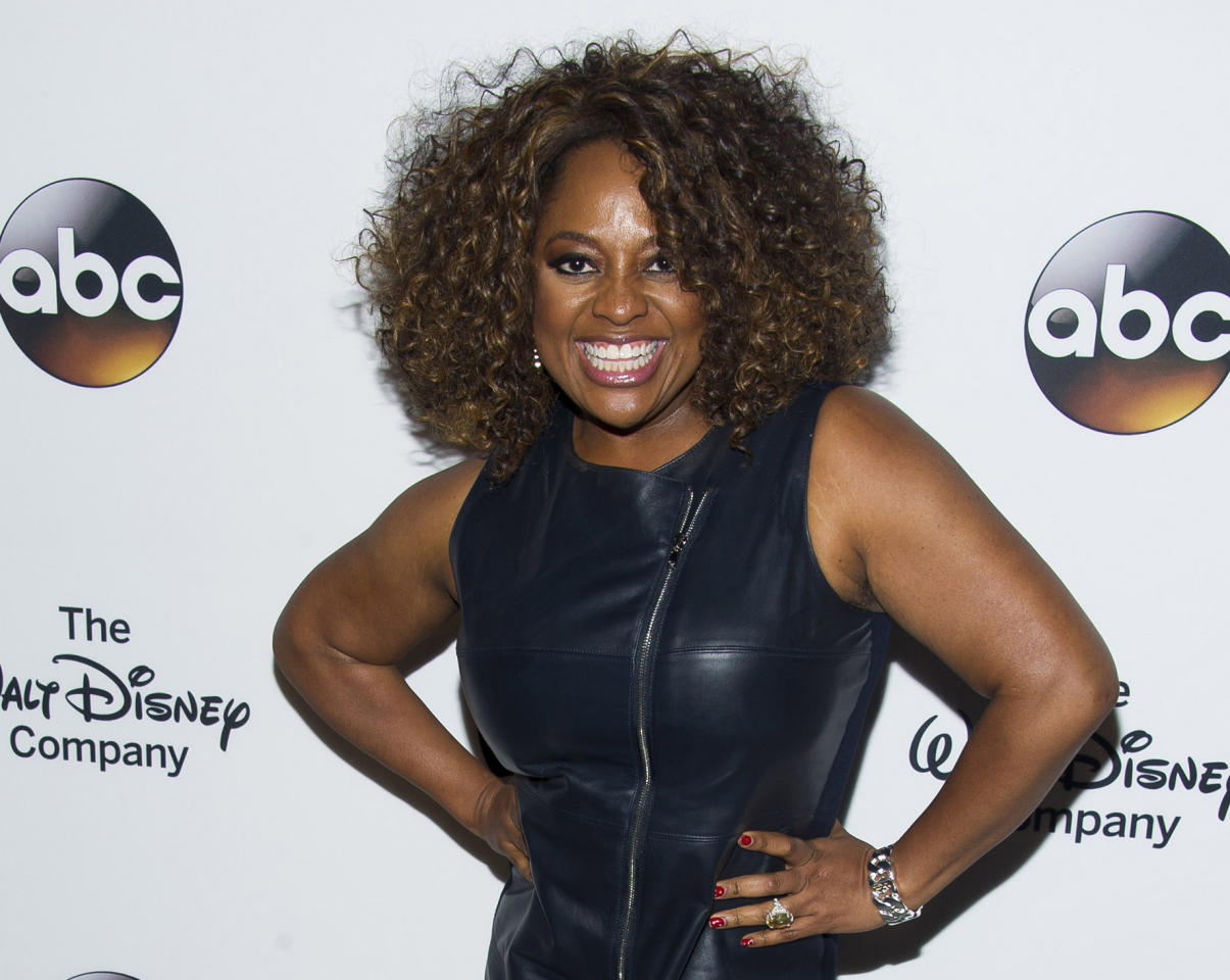 "FILE - In this May 14, 2014, file photo, Sherri Shepherd attends ""A Celebration of Barbara Walters"" in New York. Shepherd is alive despite a story shared on social media claiming the television personality died last month following a heart attack. (Photo by Charles Sykes/Invision/AP, File)"
