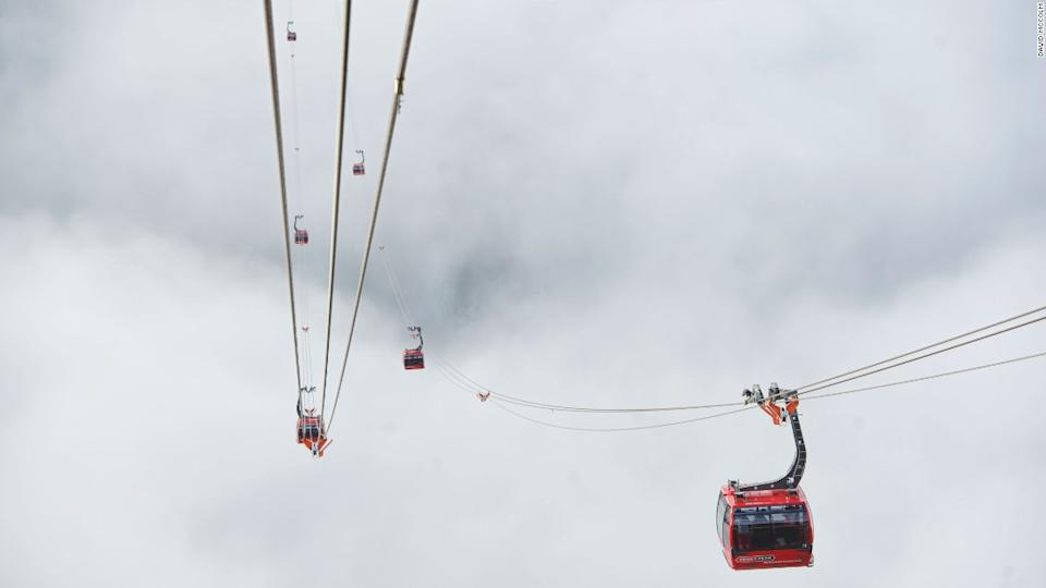 "<p>Peak 2 Peak, Whistler is an 11-minute journey across the ravine from one mountain top to the next.</p><div class=""cnn--image__credit""><em><small>Credit: David McColm / CNN</small></em></div>"