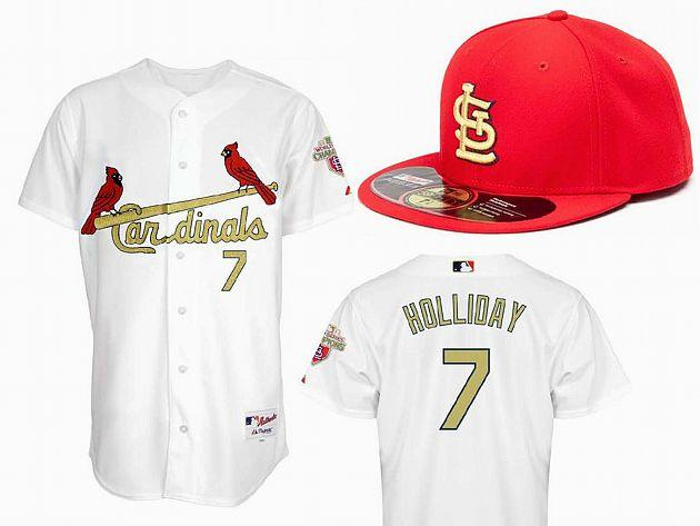 45125b6def7c Cards  opening day uniforms have golden touch