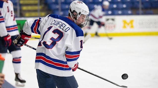 Sure, Cole Caufield is small, but he's an electric, goal-scoring winger that the Flyers wouldn't mind seeing at No. 11 overall in the 2019 NHL draft. By Jordan Hall