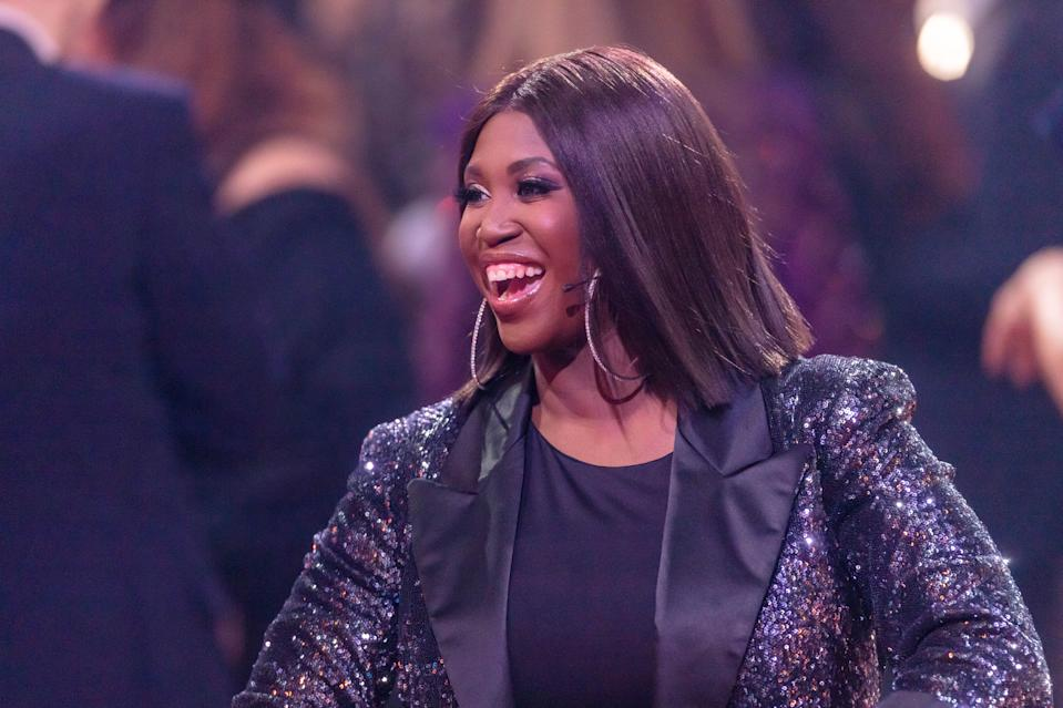 """Motsi Mabuse laughs during the 2nd show of the 13th season of the television competition """"Let's Dance"""" on March 6, 2020 in Cologne, Germany. (Photo by Mario Hommes/DeFodi Images via Getty Images)"""