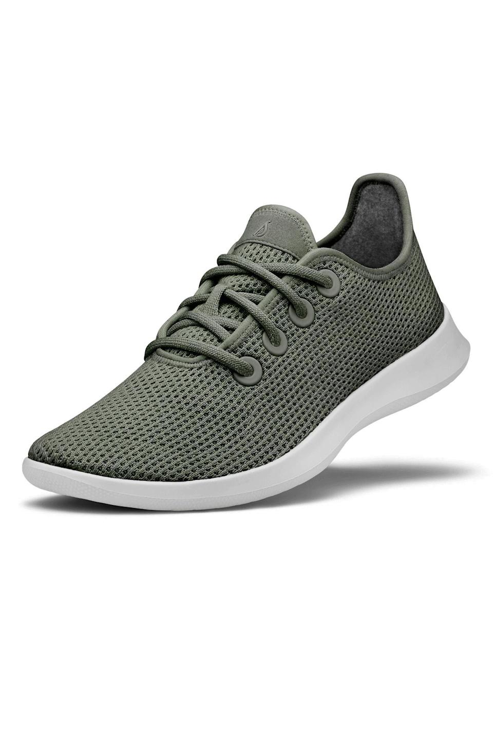 """<p><strong>Allbirds</strong></p><p>allbirds.com</p><p><strong>$95.00</strong></p><p><a href=""""https://go.redirectingat.com?id=74968X1596630&url=https%3A%2F%2Fwww.allbirds.com%2Fproducts%2Fwomens-tree-runners&sref=https%3A%2F%2Fwww.goodhousekeeping.com%2Fhealth-products%2Fg26960479%2Fbest-walking-shoes-for-women%2F"""" rel=""""nofollow noopener"""" target=""""_blank"""" data-ylk=""""slk:Shop Now"""" class=""""link rapid-noclick-resp"""">Shop Now</a></p><p><a href=""""https://www.goodhousekeeping.com/clothing/a28969437/allbirds-sneakers-review/"""" rel=""""nofollow noopener"""" target=""""_blank"""" data-ylk=""""slk:Allbirds sneakers"""" class=""""link rapid-noclick-resp"""">Allbirds sneakers</a> are a popular travel option since you can toss them right in the washer for easy cleaning after a long trip. A whopping <strong>91% of our tester panel gave these shoes a perfect rating for comfort</strong>. Reviewers love them for travel, saying """"I walked for 12 miles in one day with them and my feet didn't hurt."""" We also love that this style gives you the option to go sock-free too.<br></p>"""