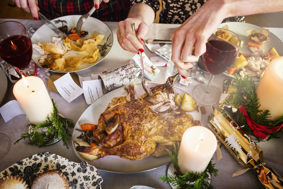 Make your Christmas food shop as easy as possible. [Photo: Getty]