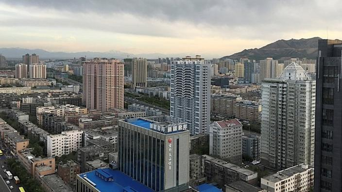 Urumqi is being subjected to what are now typical Chinese lockdown measures for outbreaks