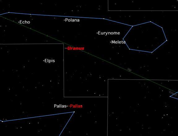 How to Spot Asteroid Pallas With a Telescope this Week