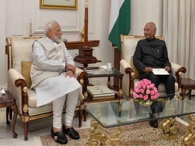 Narendra Modi tenders resignation to Ram Nath Kovind, paves way for formation of new government