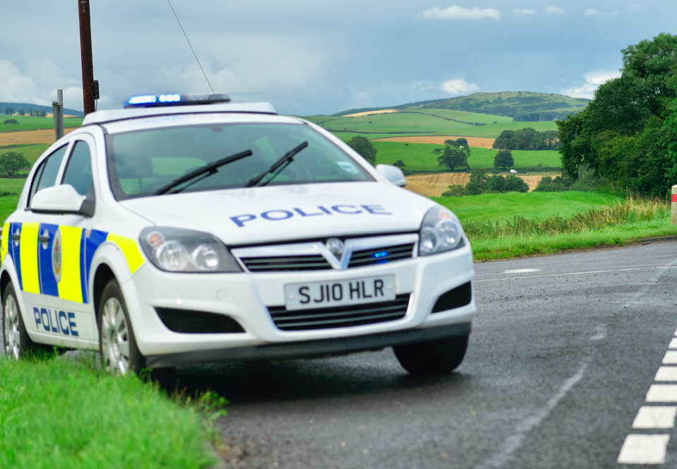 North Yorkshire police have introduced checkpoints to see why drivers are on the road. (Getty/file pic)