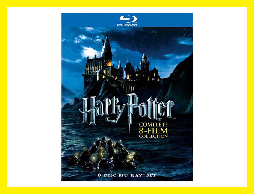 Save 46 percent on the Harry Potter: Complete 8-Film Collection on Blu-ray, today only! (Photo: Amazon)
