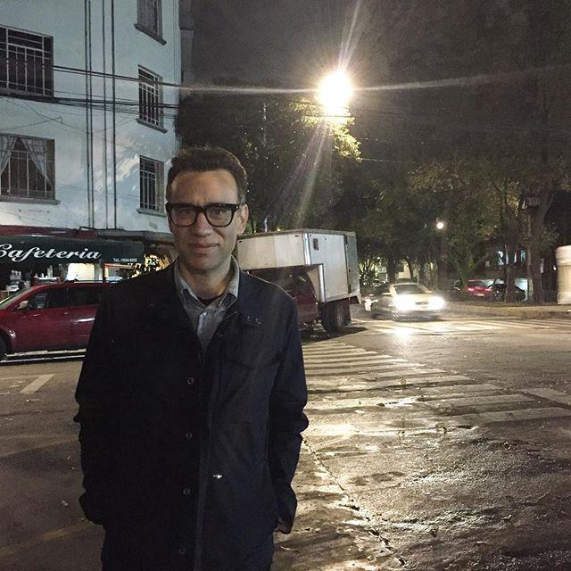 """<p>Fred Armisen made a name for himself on <em>Saturday Night Live</em>, and continued to showcase his off-kilter humor in <em>Portlandia</em>. In <em>Los Espooky</em><em>s, </em>a Spanish-language comedy on HBO, his humor is on full display again. Armisen, whose mother is from Venezuela, also <a href=""""https://www.tvguide.com/news/features/los-espookys-magical-realism-latinx/"""" rel=""""nofollow noopener"""" target=""""_blank"""" data-ylk=""""slk:created the series."""" class=""""link rapid-noclick-resp"""">created the series.</a> </p><p><a class=""""link rapid-noclick-resp"""" href=""""https://www.youtube.com/watch?v=-Mkk3a1EFH8"""" rel=""""nofollow noopener"""" target=""""_blank"""" data-ylk=""""slk:Watch an SNL Sketch"""">Watch an SNL Sketch</a></p><p><a href=""""https://www.instagram.com/p/9XsIM0AwEe/"""" rel=""""nofollow noopener"""" target=""""_blank"""" data-ylk=""""slk:See the original post on Instagram"""" class=""""link rapid-noclick-resp"""">See the original post on Instagram</a></p>"""