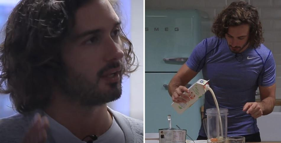 Joe Wicks speaks to us about prepping meals, eating out, and disciplining yourself