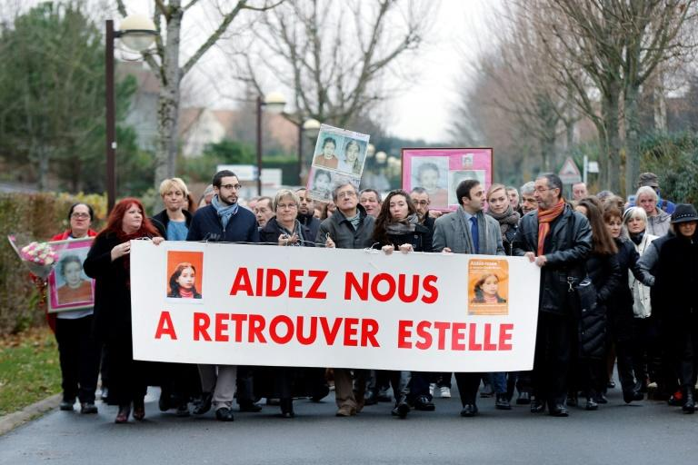 Estelle Mouzin disappeared in Guermantes, east of Paris, while walking home from school in January 2003