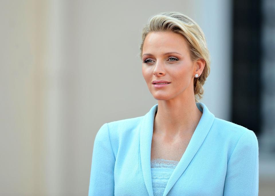 Princess Charlene of Monaco, pictured at the Prince's Palace on July 1, 2011, in Monaco. (Photo: Pascal Le Segretain via Getty Images)