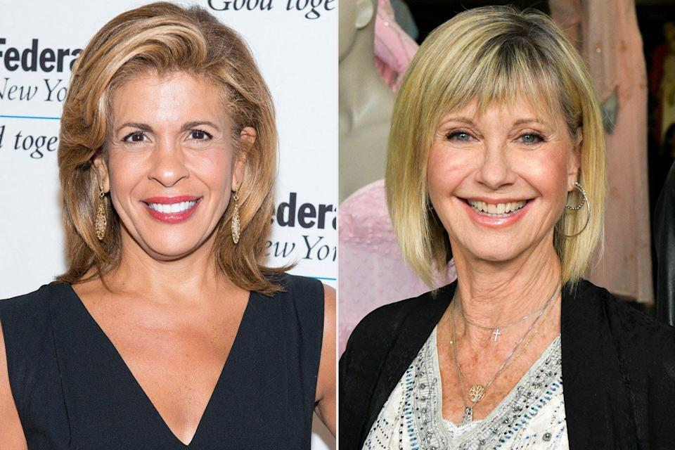 """Olivia Newton-John gives update on stage 4 diagnosis and says she and Hoda Kotb are """"sisters"""" to breast cancer"""
