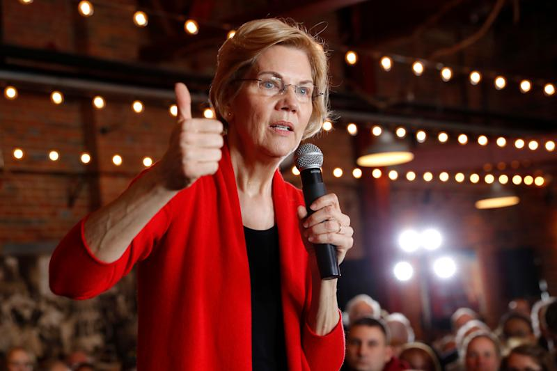 Elizabeth Warren proposes breaking up giant tech companies like Amazon and Facebook