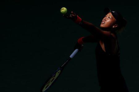 Naomi Osaka storms past Lesia Tsurenko into the final four