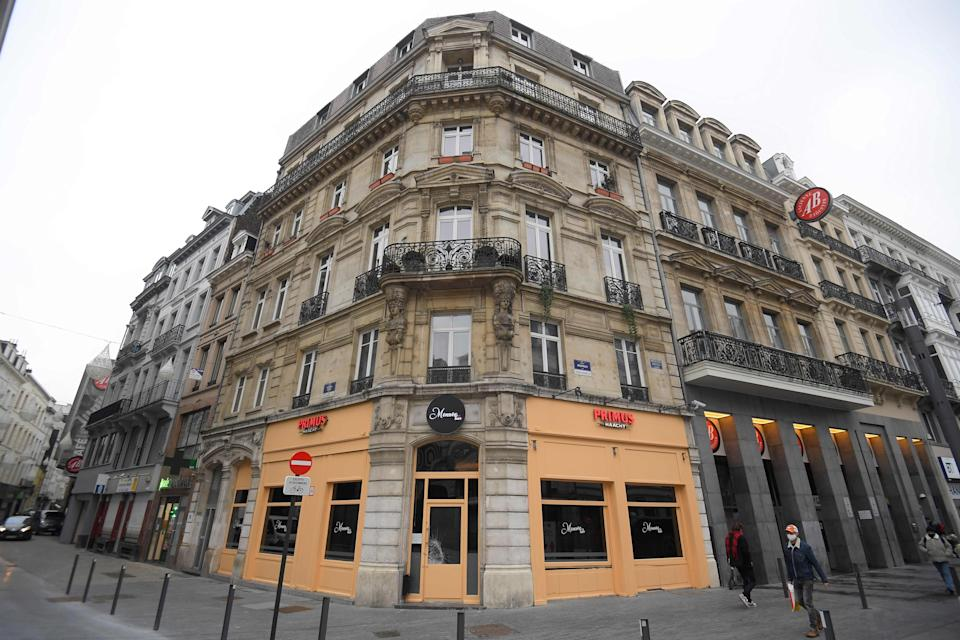 <p>Monroe Bar, where the Hungarian MEP was caught by Belgian police </p>Getty