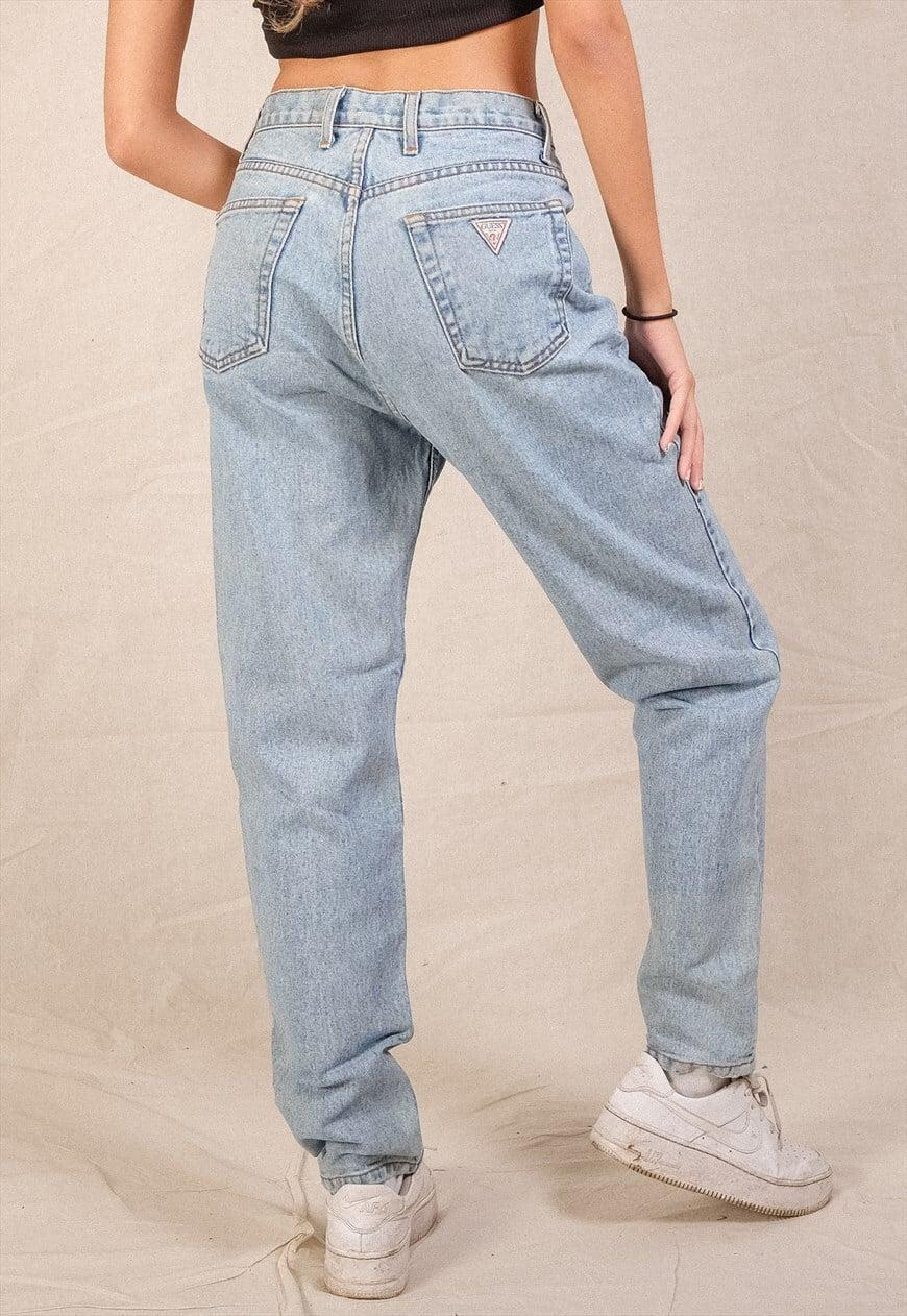 <p>These vintage <span>Guess Jeans</span> ($52) are perfectly relaxed and hail from the 1990s.</p>