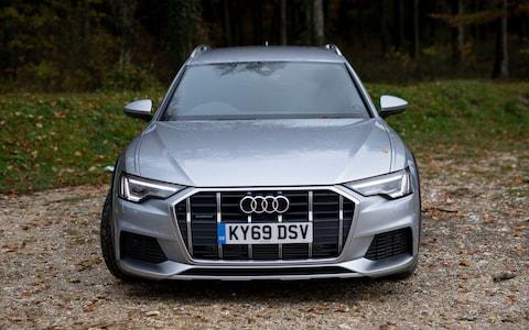 James Foxall test drives an Audi A6 in Sussex Monday Nov. 18, 2019. Picture by Christopher Pledger for the Telegraph. - Credit: Christopher Pledger
