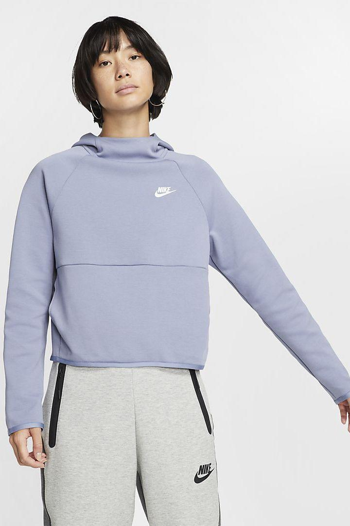 """<p><strong>Nike</strong></p><p>nike.com</p><p><a href=""""https://go.redirectingat.com?id=74968X1596630&url=https%3A%2F%2Fwww.nike.com%2Ft%2Fsportswear-tech-fleece-womens-pullover-hoodie-7Zf0lB&sref=https%3A%2F%2Fwww.marieclaire.com%2Ffashion%2Fg33011642%2Fnike-sale-june-2020%2F"""" rel=""""nofollow noopener"""" target=""""_blank"""" data-ylk=""""slk:SHOP IT"""" class=""""link rapid-noclick-resp"""">SHOP IT </a></p><p><del>$90</del><strong><br>$49.97</strong></p><p>It doesn't matter if you slip this on during a breezy summer night or want to get a head start on your fall shopping, you're going to get a lot of use out of this cozy hoodie. </p>"""