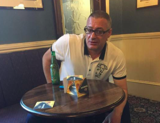 Millwall fan fights London Bridge terrorist jihadis at Black & Blue