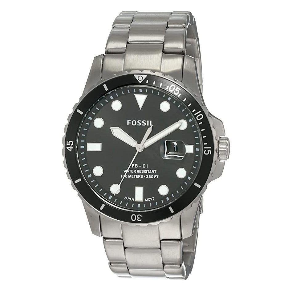"""<p><strong>Fossil</strong></p><p>amazon.com</p><p><strong>$68.98</strong></p><p><a href=""""https://www.amazon.com/dp/B07XYY9X9V?tag=syn-yahoo-20&ascsubtag=%5Bartid%7C2139.g.36687307%5Bsrc%7Cyahoo-us"""" rel=""""nofollow noopener"""" target=""""_blank"""" data-ylk=""""slk:BUY IT HERE"""" class=""""link rapid-noclick-resp"""">BUY IT HERE</a></p><p>In a world where smartwatches are the new norm, a classic <a href=""""https://www.menshealth.com/style/g36673991/best-cheap-watches-for-men/"""" rel=""""nofollow noopener"""" target=""""_blank"""" data-ylk=""""slk:(and cheap) watch"""" class=""""link rapid-noclick-resp"""">(and cheap) watch</a> for more formal occasions is the perfect addition to your wardrobe. And you'll never get tired of a stainless steel style like this one.</p>"""