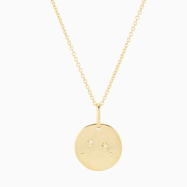 """$79, Mejuri. <a href=""""https://mejuri.com/shop/products/zodiac-necklace-aries"""">Get it now!</a>"""